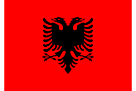Steagulet Romania 45x30cm cu bat din plastic