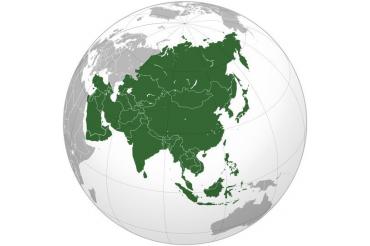 Drapele Asia